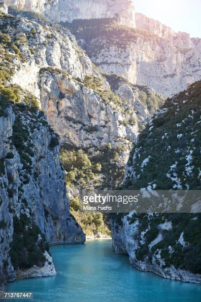 View of Canyon du Verdon, Alpes-de-Haute-Provence, France