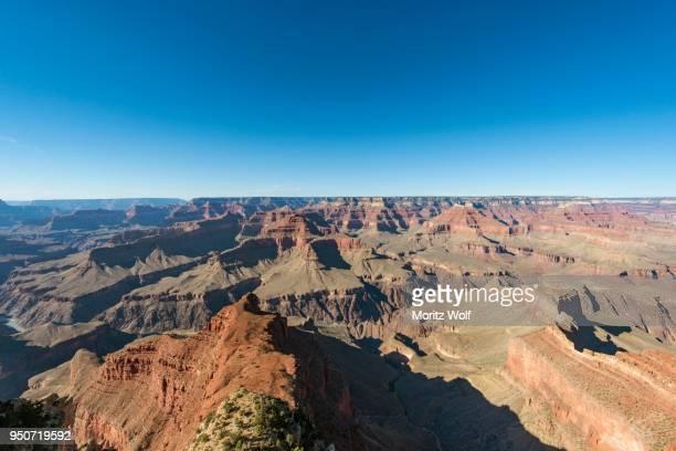 View of canyon landscape, South Rim, Grand Canyon National Park, Arizona, USA