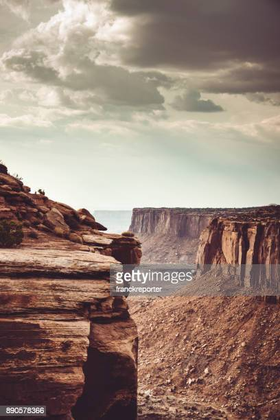 view of canyonland rock