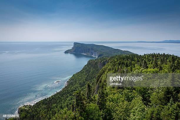 View of Cap Bon Ami, Forillon, Quebec, Canada