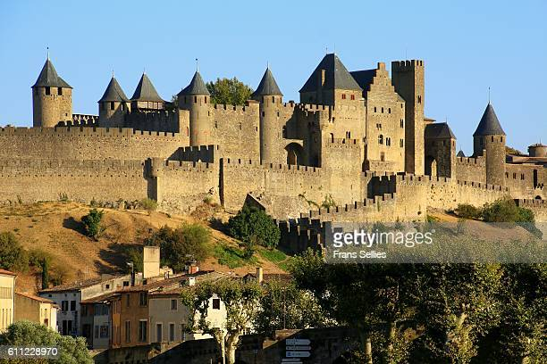 View of Carcassonne, France (Unesco world heritage)