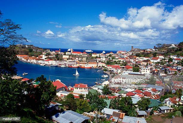 View of Carenage, St George, Grenada, West Indies
