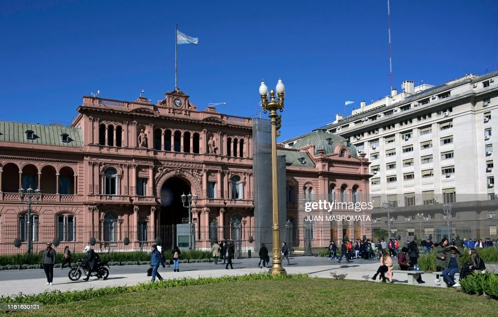 ARGENTINA-POLITICS-ECONOMY : News Photo