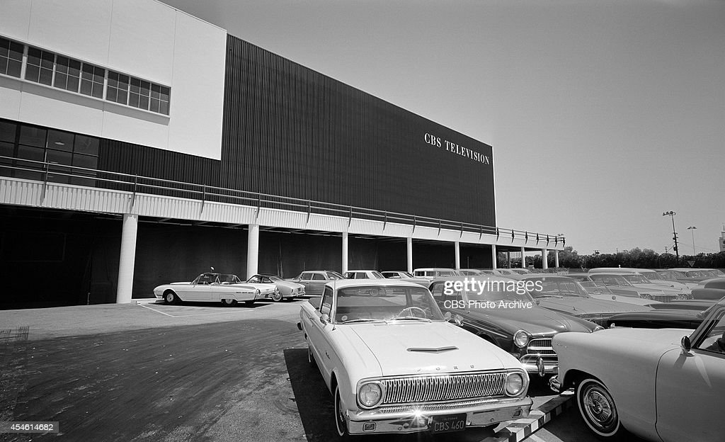 A view of CBS's Television City , Los Angeles, California