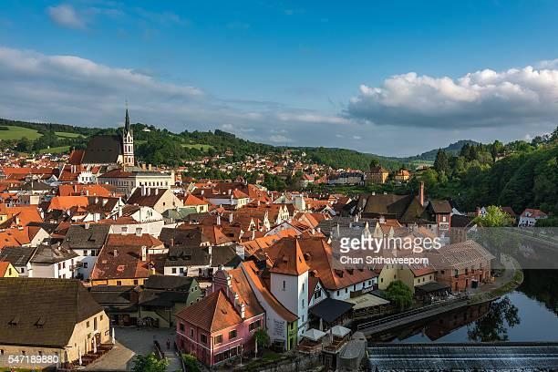 View of Cesky Krumlov , Czech Republic