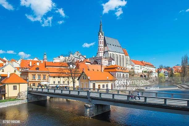 View of Cesky Krumlov Czech Republic