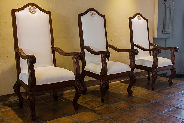 View Of Chairs To Be Used By Pope Francis Made Mexican Sculptor Agustin Parra