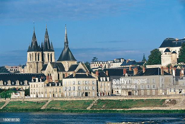 View of Chateau de Blois Loire Valley France
