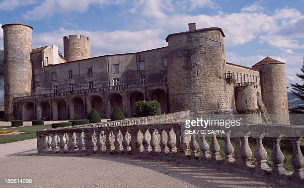 View of Chateau de Ravel Auvergne France 12th18th century