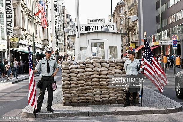 View of Checkpoint Charlie