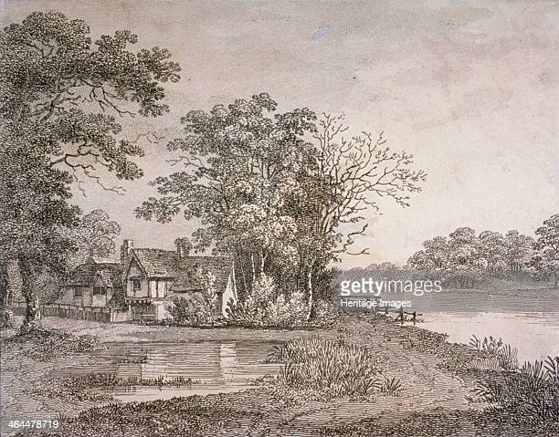 View of Cheesecake House in Hyde Park London 1795