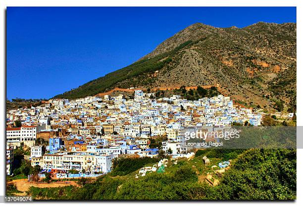 View of Chefchaouen city