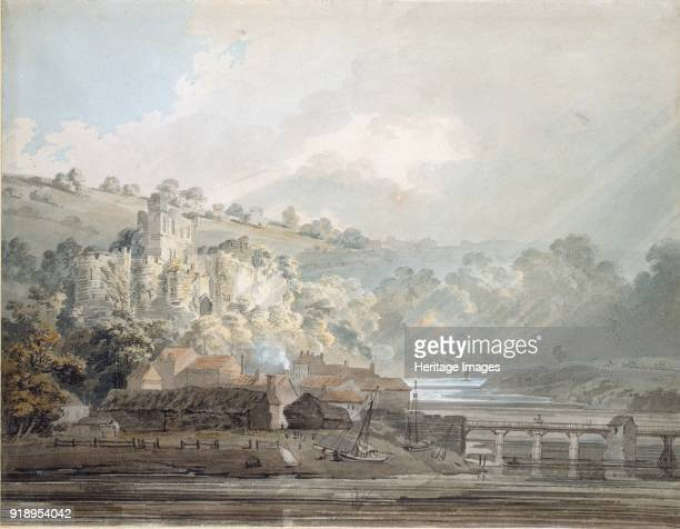 View of Chepstow Monmouthshire c17911792 Dimensions height x width sheet 228 x 297 cm