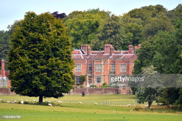 A view of Chequers house the official country residence of the British Prime Minister on August 04 2020 in Ellesborough England Chequers Court a...