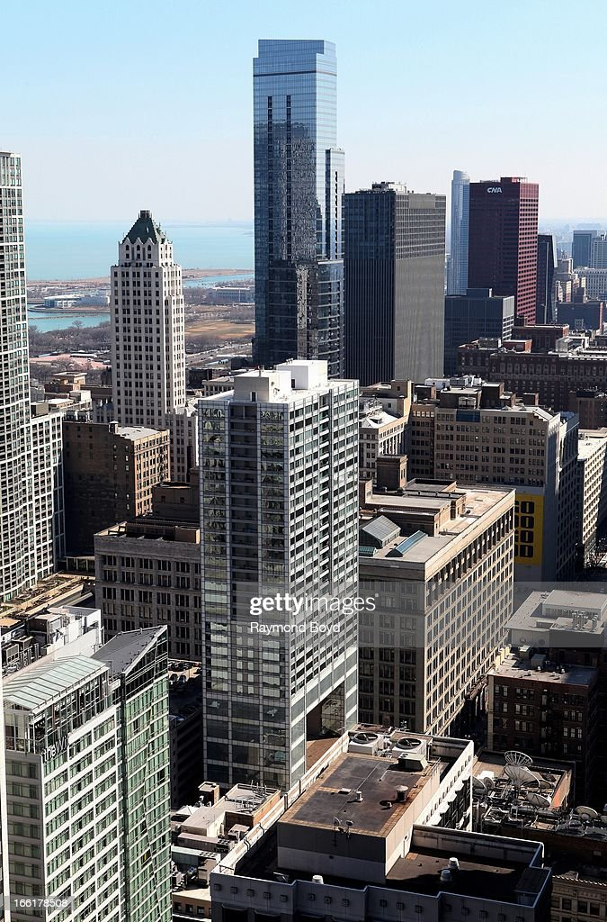 A View Of Chicago Downtown Office Buildings Looking South As News Photo Getty Images
