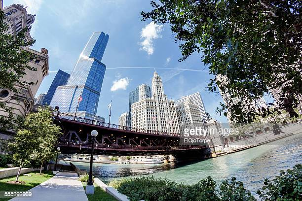View of Chicago,from Chicago Riverwalk