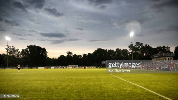 A view of Children's Mercy Victory Field during an NWSL match between the Seattle Reign FC and FC Kansas City on June 17 2017 in Kansas City MO The...