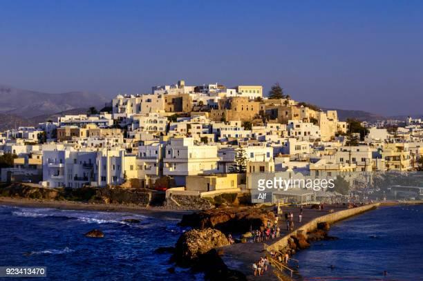 View of Chora, Naxos, Cyclades Islands, Greece