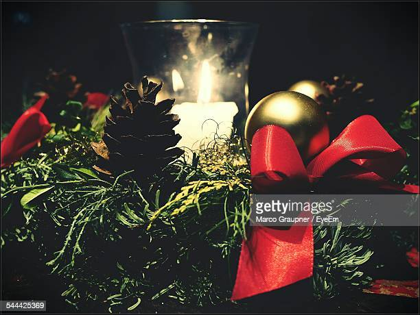 View Of Christmas Decoration