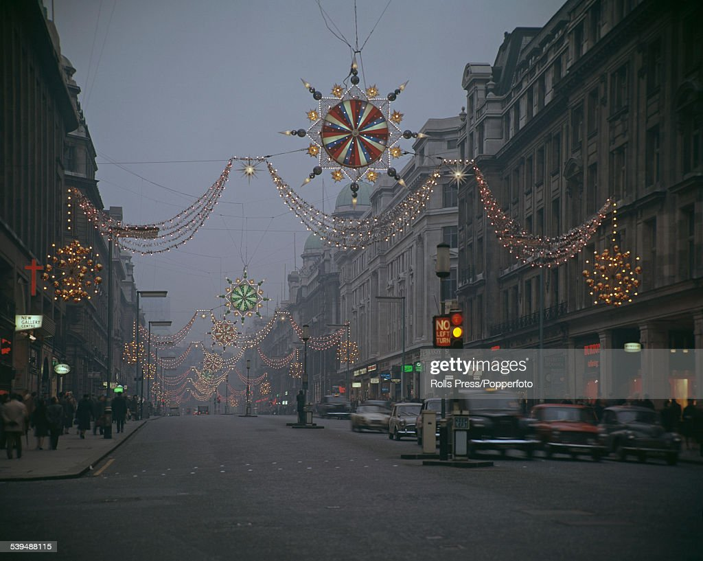 Christmas Lights In Regent Street Pictures | Getty Images