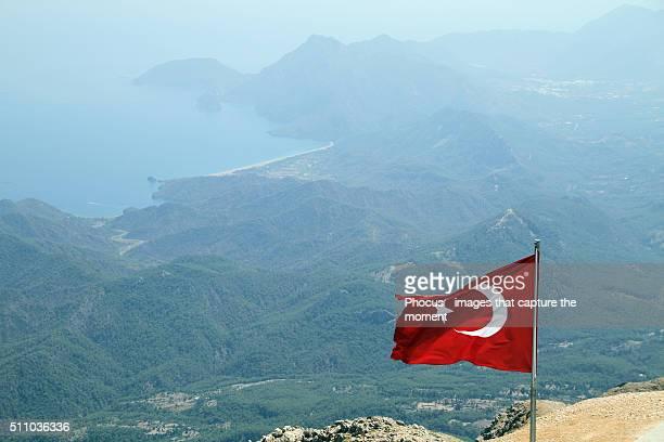 View of Cirali, Turkey