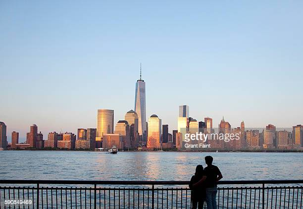 view of city. - international landmark stock pictures, royalty-free photos & images