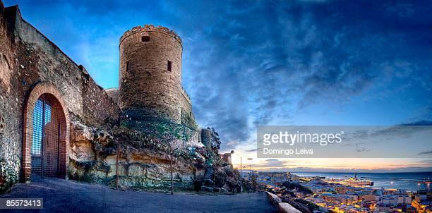 view of city - アルメリア ストックフォトと画像