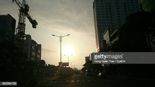 view of city street - hong quan stock pictures, royalty-free photos & images