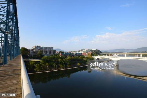 view of cityscape against sky - chattanooga stock pictures, royalty-free photos & images