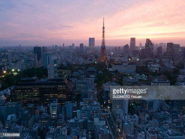 View of cityscape in Tokyo