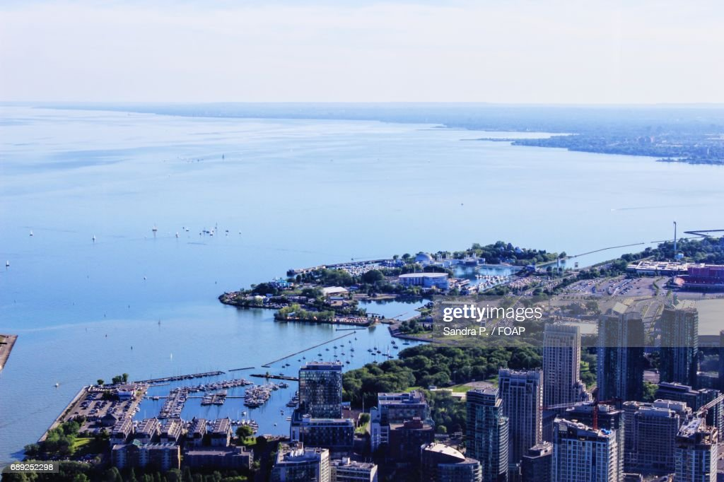 View of cityscape, Toronto, Ontario, Canada : Stock Photo