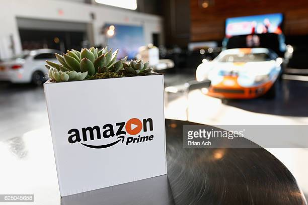 A view of Classic Cars during the Amazon Prime Video celebration of The Grand Tour with a VIP Fan Experience at Classic Car Club Manhattan on...