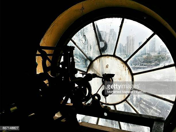 View Of Clock From Inside