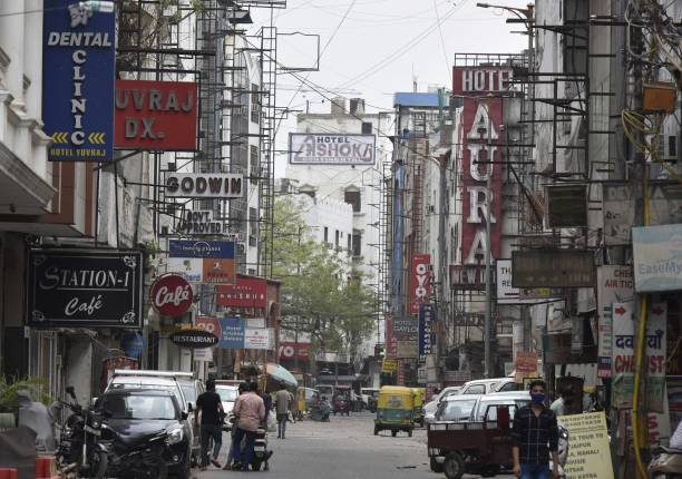 IND: Lockdown In Delhi To Due To Covid 19 Pandemic