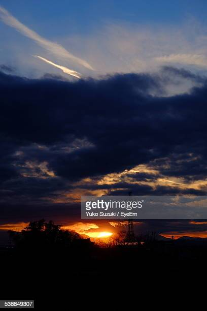 View Of Cloudy Sky During Sunset