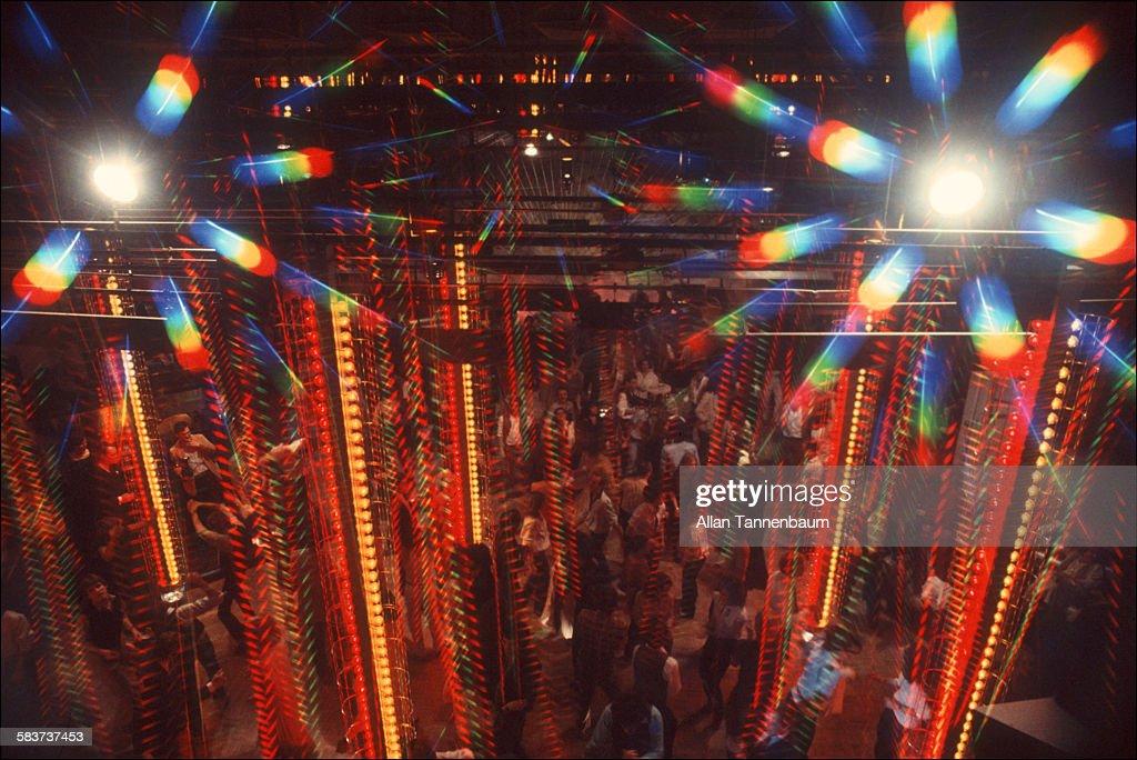 Light Towers At Studio 54 : News Photo
