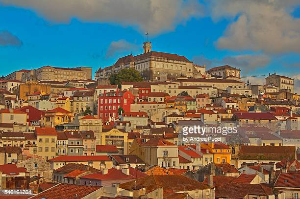 A view of Coimbra's University Hill, Coimbra, Portugal
