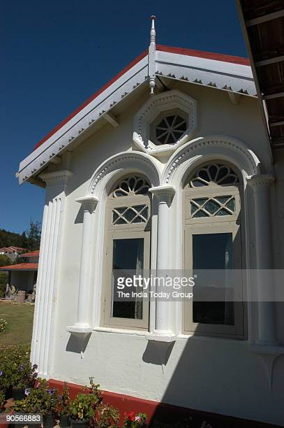 View of Colonial Bungalow in Ooty and Masanumkudi Sherlock in Ooty run by Vijay Prabhu and his wife in Bangalore Karnataka India