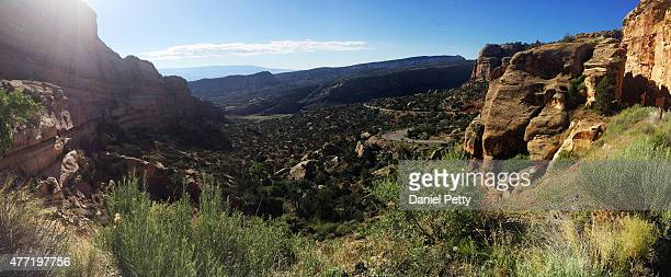 A view of Colorado National Monument during Day 1 of the 2015 Ride the Rockies tour that started and ended on June 14 in Grand Junction Colorado The...
