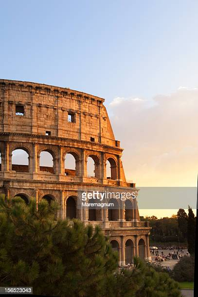 View of Colosseo (Coliseum)