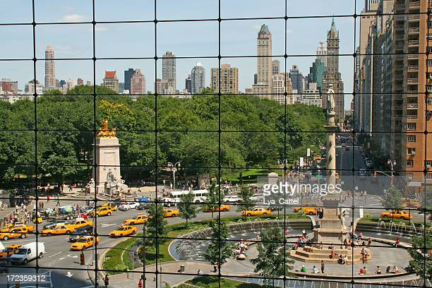 A view of Columbus Circle in New York