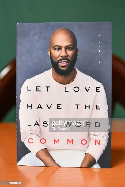 A view of Common's book Let Love Have the Last Word at Barnes Noble 5th Avenue on May 07 2019 in New York City