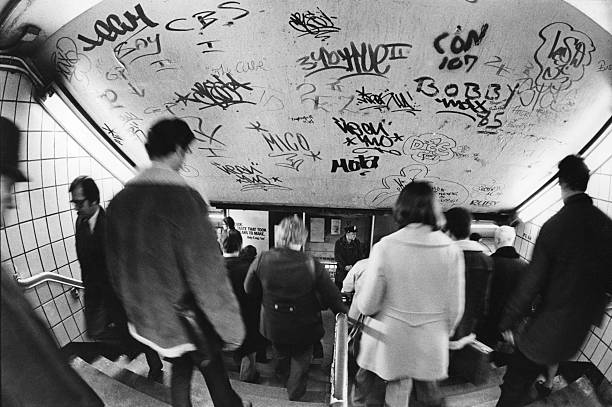 Subway Graffiti Wall Art