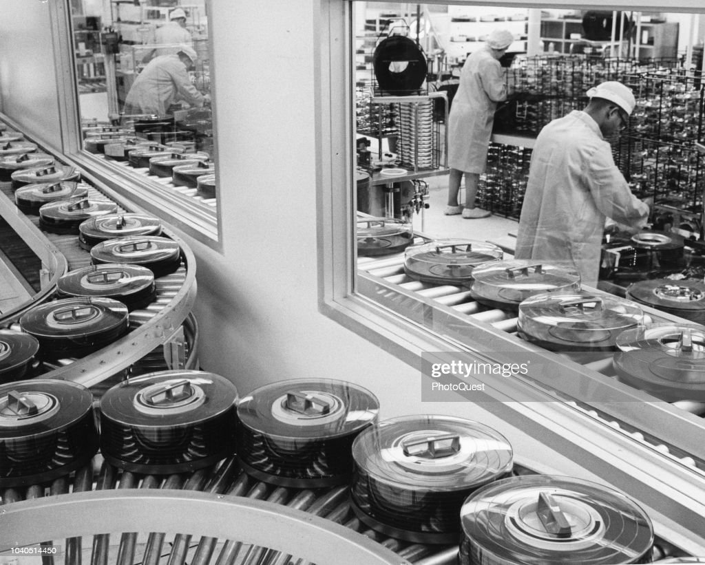 Computer Disk Production Line : News Photo