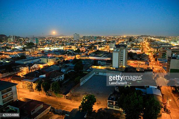 View of Concepcion city on January 1st 2015 in Concepcion Chile Concepcion is one of the eight host cities of the next Copa America Chile 2015 which...