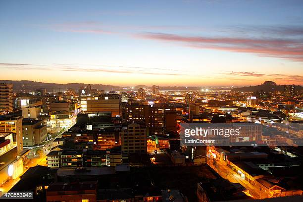 View of Concepcion city on October 24th 2014 in Concepcion Chile Concepcion is one of the eight host cities of the next Copa America Chile 2015 which...