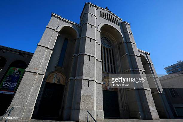View of Concepcion´s Cathedral in Concepcion host city of 2015 Copa America Chile on June 29 2015 in Concepcion Chile