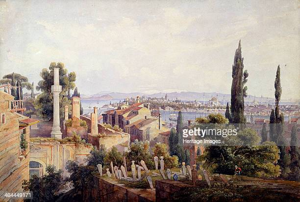 'View of Constantinople and the Golden Horn', 1835. Found in the collection of the State A Pushkin Museum of Fine Arts, Moscow.