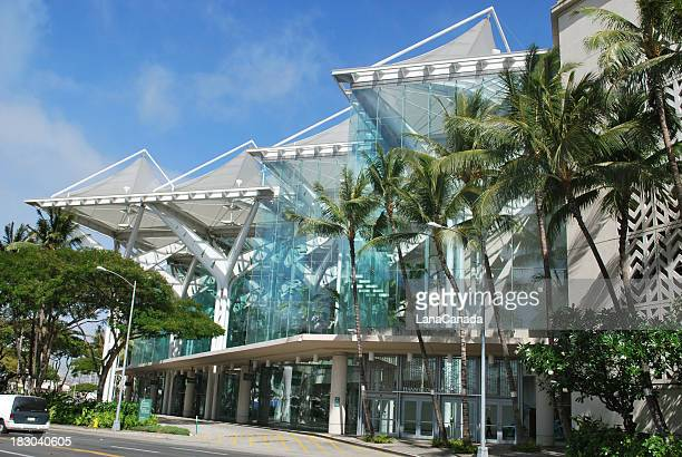 View of Convention Center in Honolulu, Hawaii