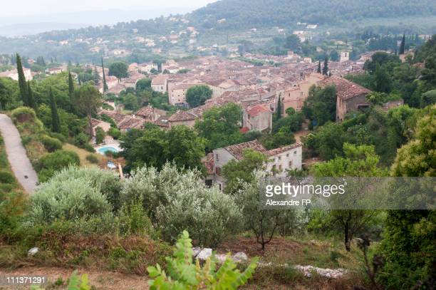 View of Cotignac, Provence
